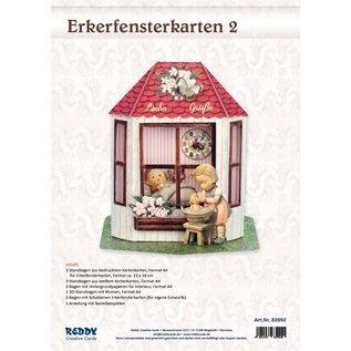 BASTELSETS / CRAFT KITS NIEUW! Complete kaartenset voor 3x 3D-erkerkaarten!