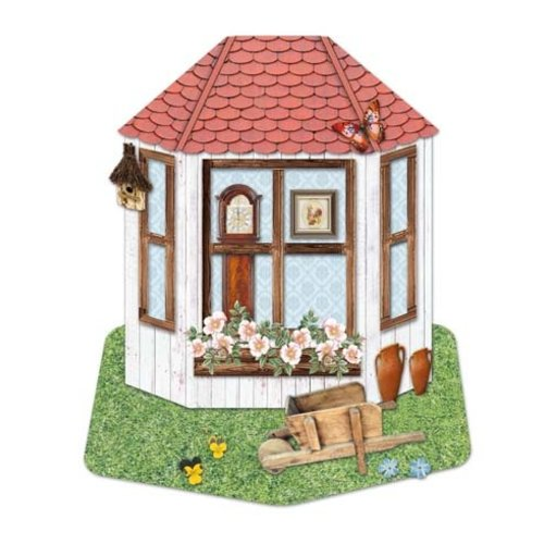BASTELSETS / CRAFT KITS NEW! Complete card set for 3x 3D bay window cards!