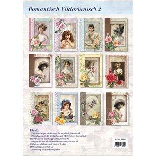 BASTELSETS / CRAFT KITS Craft Kit voor 12 romantische Victoriaanse kaarten!