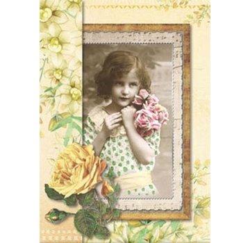 BASTELSETS / CRAFT KITS Kit artigianale per 12 carte vittoriane romantiche!
