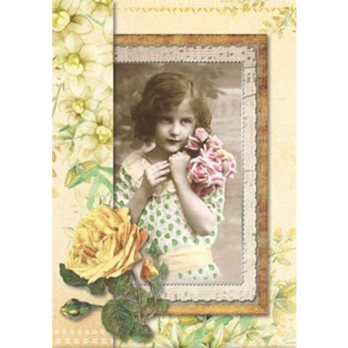 BASTELSETS / CRAFT KITS Craft Kit for 12 Romantic Victorian Cards!
