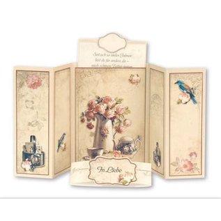 BASTELSETS / CRAFT KITS Complete set voor 6 glijdende kaarten!