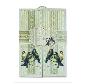 BASTELSETS / CRAFT KITS Kit completo per 6 carte scorrevoli!