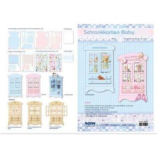 BASTELSETS / CRAFT KITS Craft set of wardrobe cards baby