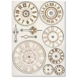 Embellishments / Verzierungen Adornos de madera: Mecanismos y relojes