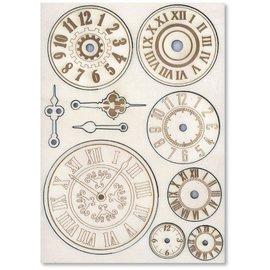 Embellishments / Verzierungen Abbellimenti in legno: meccanismi e orologi