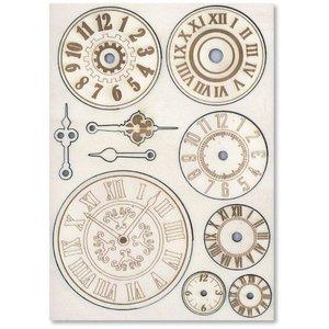 Embellishments / Verzierungen Houten verfraaiingen: mechanismen & horloges