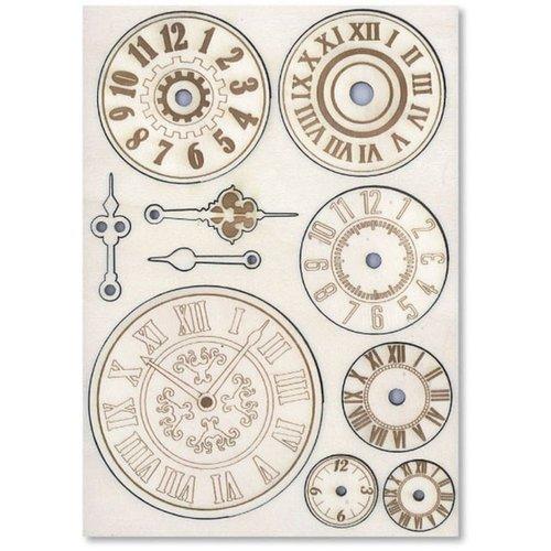 Embellishments / Verzierungen Hölzern Embellishments: Mechanismen & Uhren