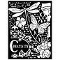Stamperia und Florella Mix Media Art Thick stencil. 20x25cm, 0.5mm thick