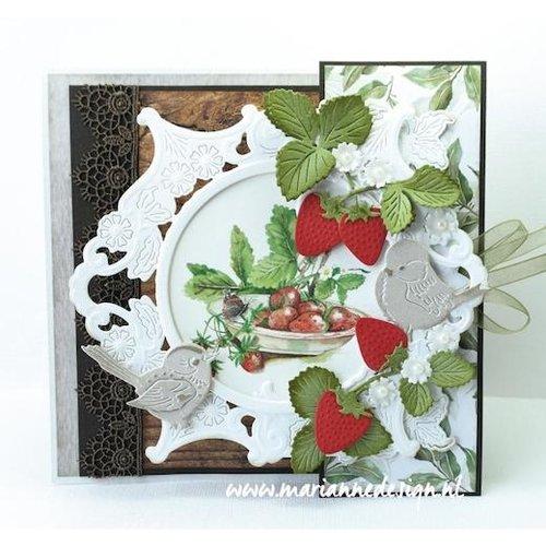 Marianne Design Snijmallen: aardbeien