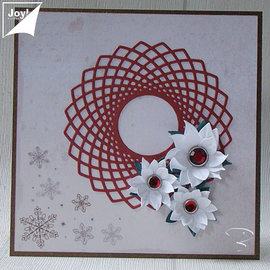 Joy!Crafts / Jeanine´s Art, Hobby Solutions Dies /  Stamping templates: Lovely Frame - Spirocirkel