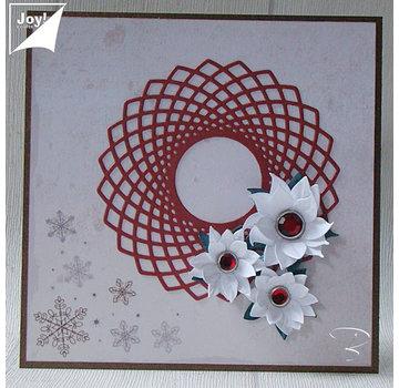 Joy!Crafts / Jeanine´s Art, Hobby Solutions Dies /  Fustelle: Lovely Frame - Spiro Cirkel