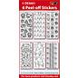 Sticker SET: 6 overzichtsstickers, Pasen