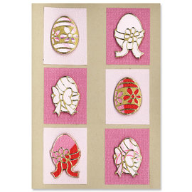 Sticker SET: 6 Outline Stickers, Ostern