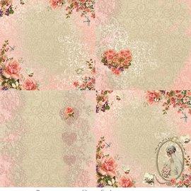 """LaBlanche 1 foglio, 30,5 x 30,5 cm da La Blanche 'Dream Garden 4 """""""