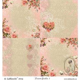 """LaBlanche 1 hoja, 30,5 x 30,5 cm de La Blanche 'Dream Garden 4 """""""