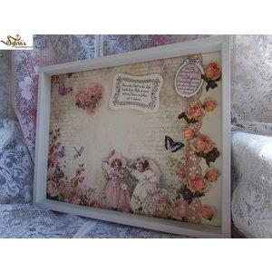 "LaBlanche Lablanche Papers ""Dream Garden"" No.6"
