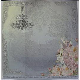 """LaBlanche Papel de diseño """""""" Cristal y rosas """"05"""