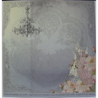 "LaBlanche Designpapier """"Crystal & Roses""05"