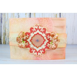 Tattered Lace cutting dies, Tattered Lace Essentials, Victorian Baroque Label
