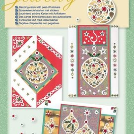 Komplett Sets / Kits NOUVEAU! Kit artisanal, ensemble Jewelly, belles cartes lumineuses avec des autocollants