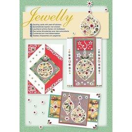 Komplett Sets / Kits NEU! Bastelset, Jewelly set, leuchtend schöne karten mit Sticker