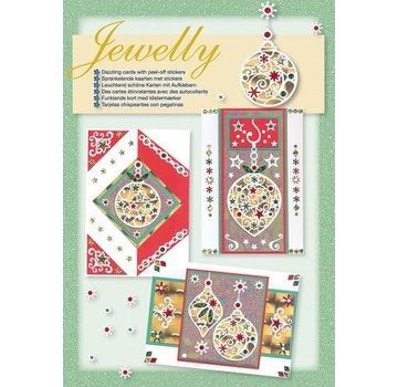 Komplett Sets / Kits NYHED! Håndværkssæt, Smykkesæt, lyse smukke kort med klistermærker
