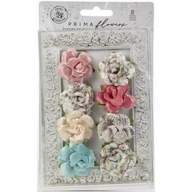Prima Marketing und Petaloo Prima Marketing, Embellishments: Flowers