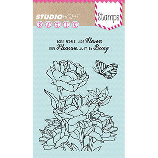 Studio Light Studio Light, Stamped Motif, Transparent, Roses