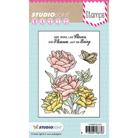 Studio Light Studio Light, Stamped Motif, Transparent, Roses
