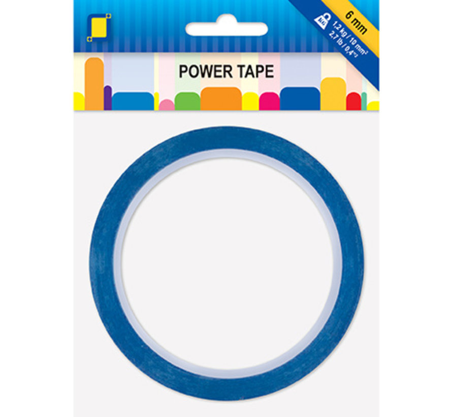 Adhesive tape: double-sided power tape, 6mm, 10 meters!