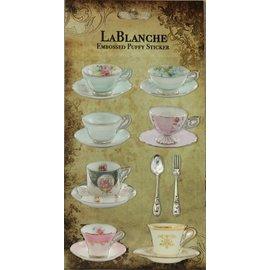 LaBlanche Te ontwerpen op kaarten, scrapbook, albums, decoupage en meer!