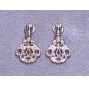 Embellishments / Verzierungen 2 abbellimenti in metallo, ornamenti in argento - Copy