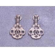 Embellishments / Verzierungen 2 metal udsmykninger, sølv ornamenter - Copy