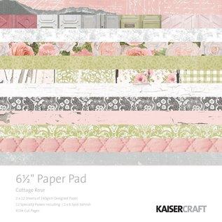 """Kaisercraft und K&Company Keizerkracht, kaart en scrapbookpapier, 16,5 x 16,5 cm, """"Cottage Rose"""""""
