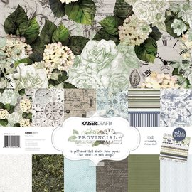 "Kaisercraft und K&Company Emperor Force, Card and Scrapbook Paper, 30.5 x 30.5 cm, ""Provincial"""