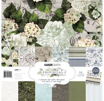 """Kaisercraft und K&Company Emperor Force, Card and Scrapbook Paper, 30.5 x 30.5 cm, """"Provincial"""""""