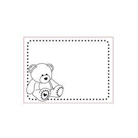 Elisabeth Craft Dies , By Lene, Lawn Fawn Cartella goffratura 3D A6: Bear, Baby