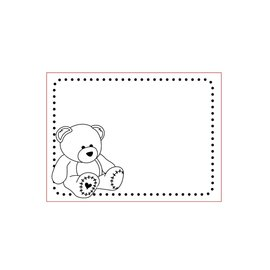 Elisabeth Craft Dies , By Lene, Lawn Fawn Dossier de gaufrage 3D A6: Bear, Baby