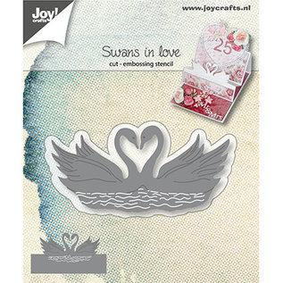 Joy!Crafts / Jeanine´s Art, Hobby Solutions Dies /  Snijmallen: verliefde Zwaluwen