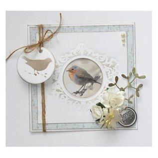 Joy!Crafts / Jeanine´s Art, Hobby Solutions Dies /  Joy Crafts, Stanzschablonen: Zierrahmen mit Vogel