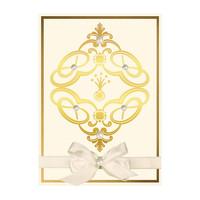 Plaque de dorure à chaud Marquise Diamond Suite Spellbinders (GLP-038)