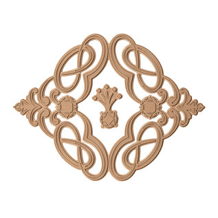 Spellbinders und Rayher Spellbinders Marquise Diamond Suite Hot Foil Plate (GLP-038)