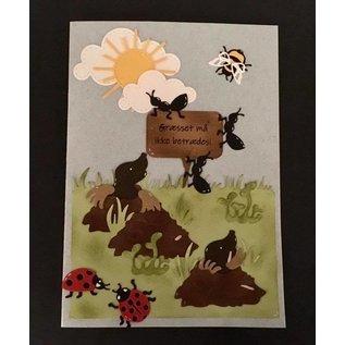 Elisabeth Craft Dies , By Lene, Lawn Fawn cutting dies