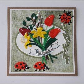 Elisabeth Craft Dies , By Lene, Lawn Fawn Plantillas de corte