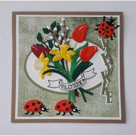 Elisabeth Craft Dies , By Lene, Lawn Fawn Stanzschablonen