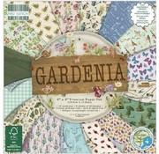 Karten und Scrapbooking Papier, Papier blöcke Blocco carta e scrapbook, 15,5 x 15,5 cm, Gardenia