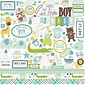 "Carta Bella / Echo Park / Classica Echo Park ""Hello Baby Girl"" 30,5 x 30,5 ""Element Stickers - Copy"