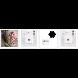 BASTELZUBEHÖR, WERKZEUG UND AUFBEWAHRUNG Olba Flower Puncher wordt vervangen door 3 Mini Flower Punches + Free 2 Card Sets