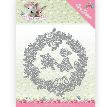 AMY DESIGN Stanzschablonen, Circle of Roses